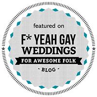 f+yeah gay  wedding